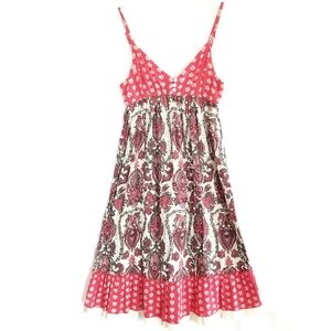 Billabong Boho Paisley Sundress Small